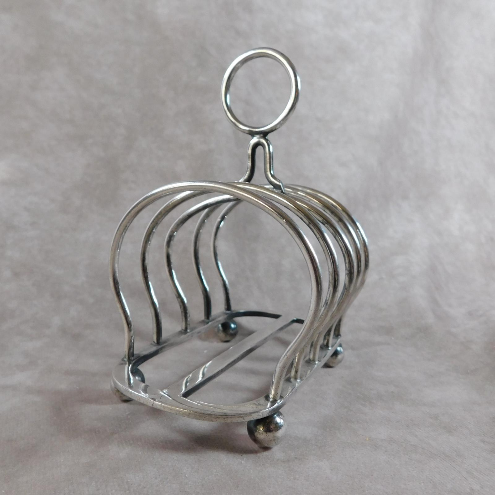 """Early 20th Century """"Welbeck Plate"""" Toast Rack by The Alexander Clark Co Ltd (1 of 1)"""