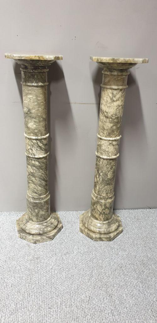 Pair of Alabaster Columns (1 of 1)