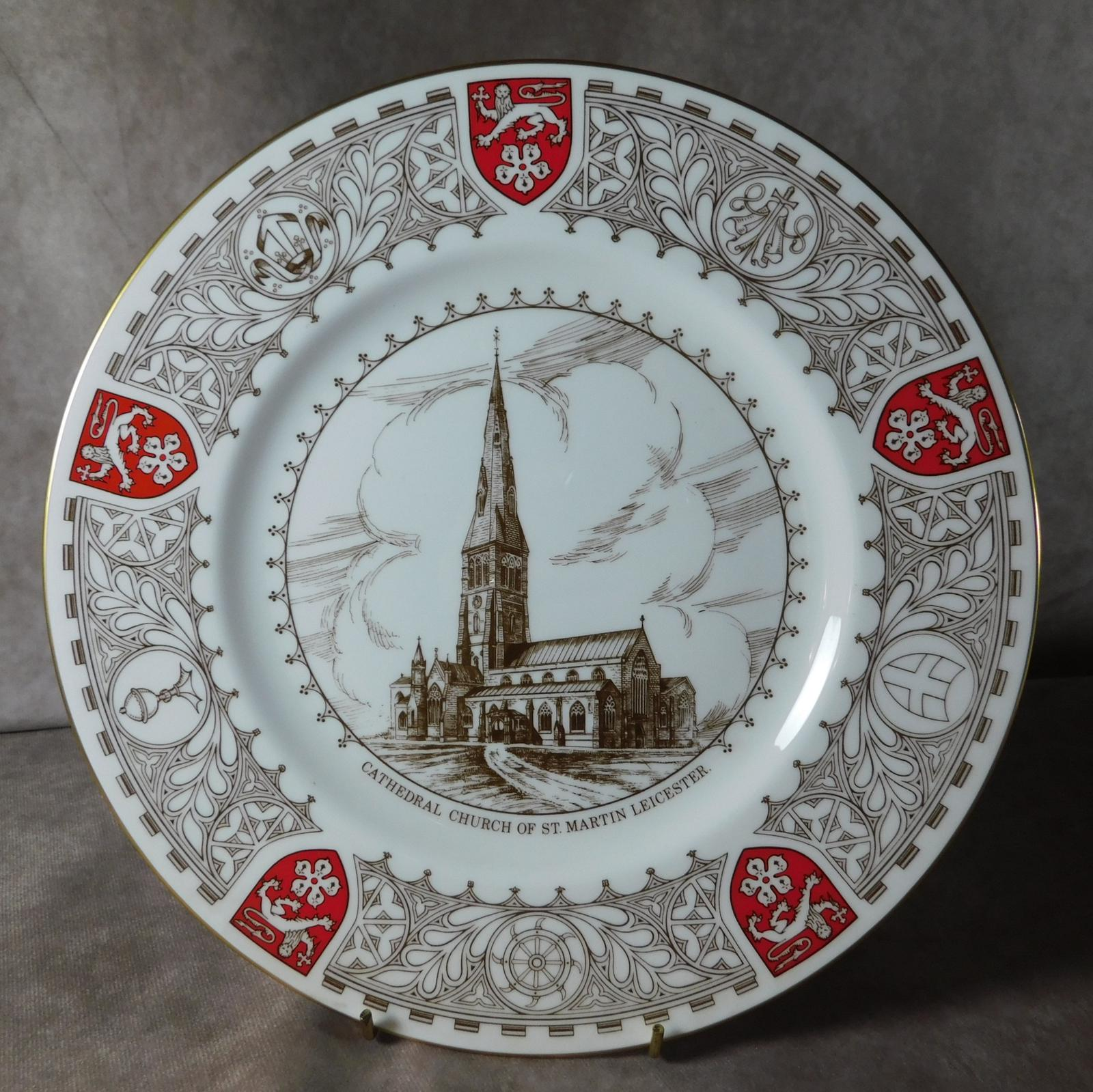 St Martin Leicester Golden Jubilee Plate by Coalport Plate (1 of 1)