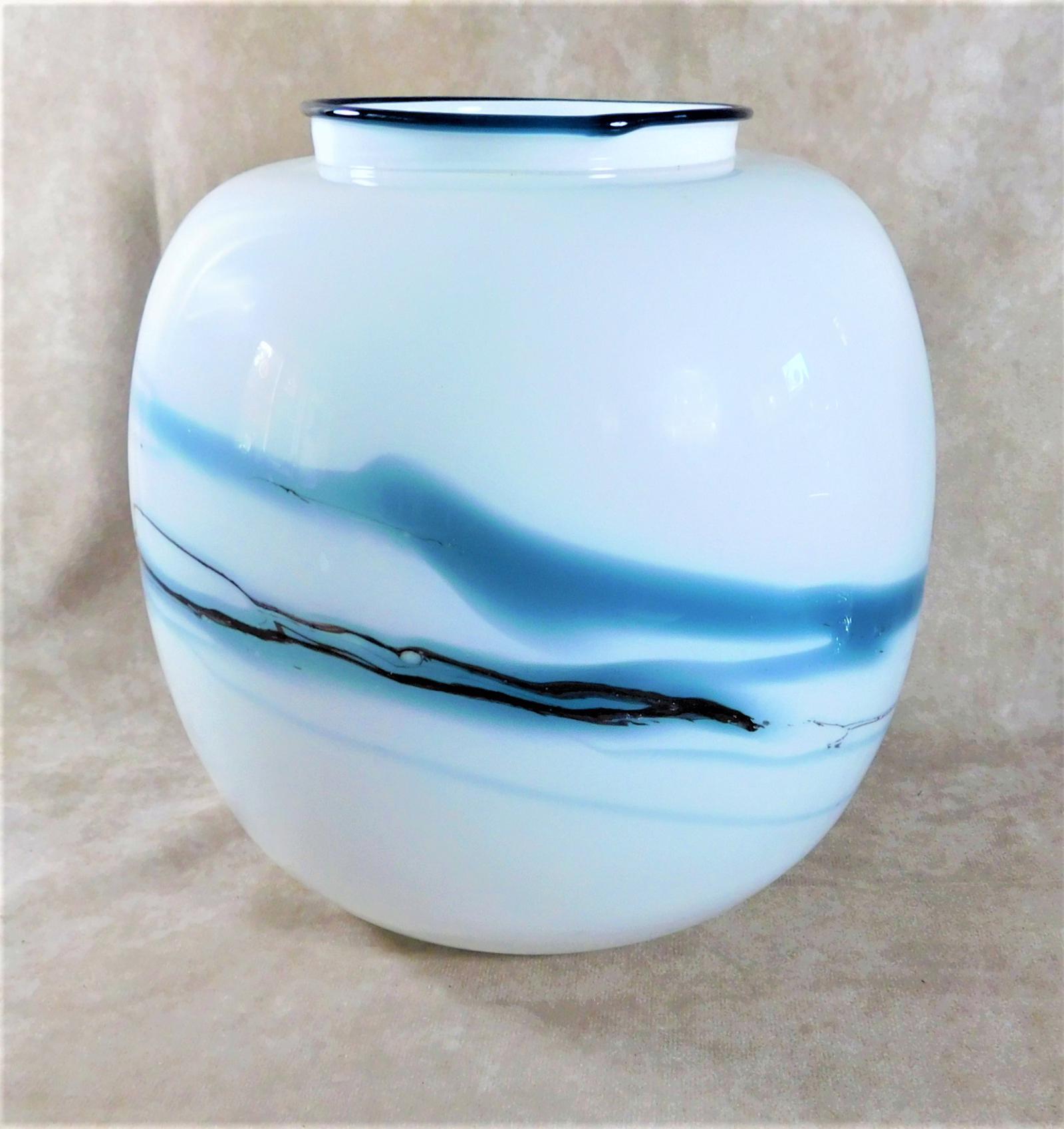 Large Holmegaard,  Atlantis Series Vase by Michael Bang (1 of 1)