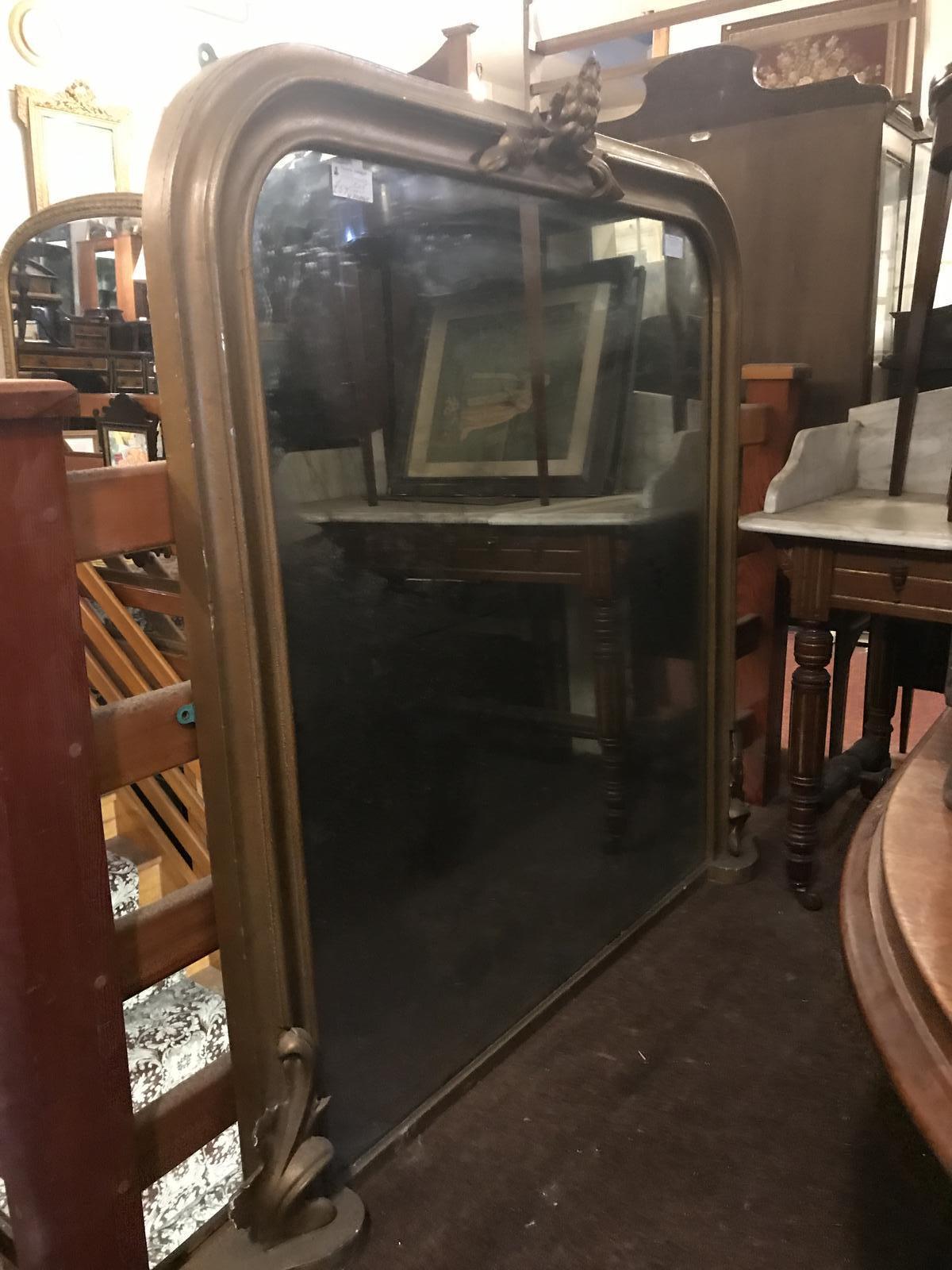 Victorian Gilt Mirror (1 of 1)