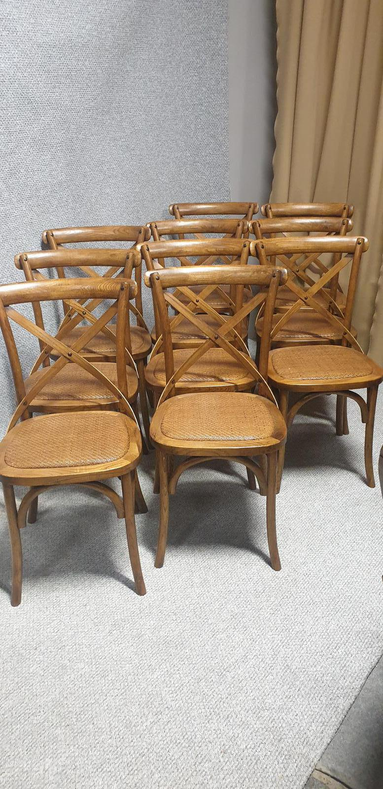 Set of 10 Bentwood Kitchen Chairs (1 of 1)