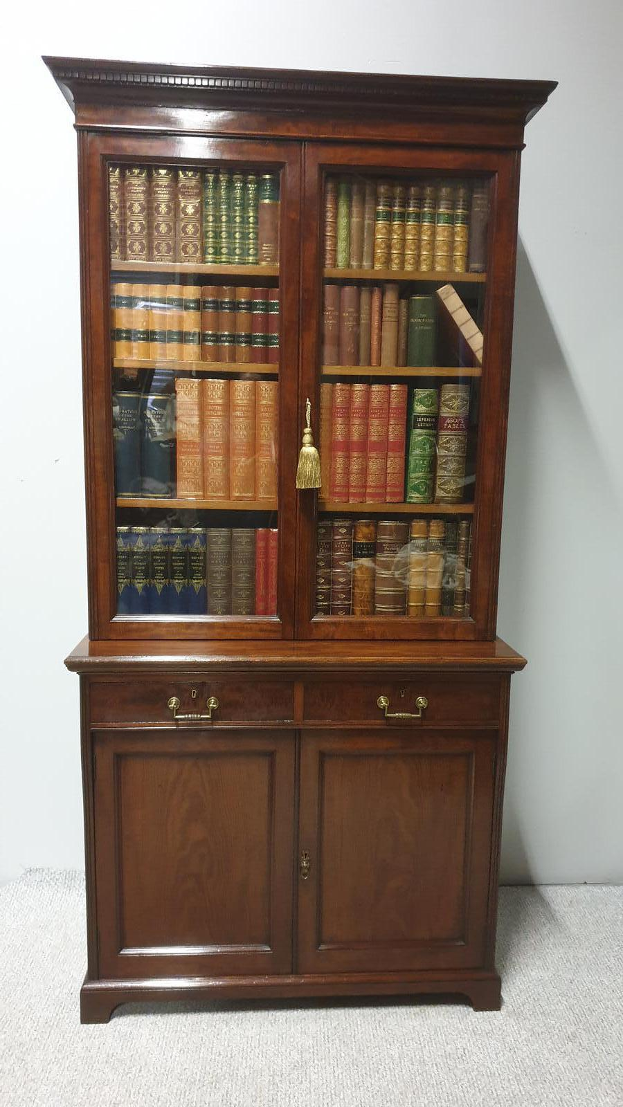 Top  Quality Bookcase of Small Proportions (1 of 1)