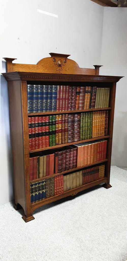 Art Noveau Open Library Bookcase (1 of 1)
