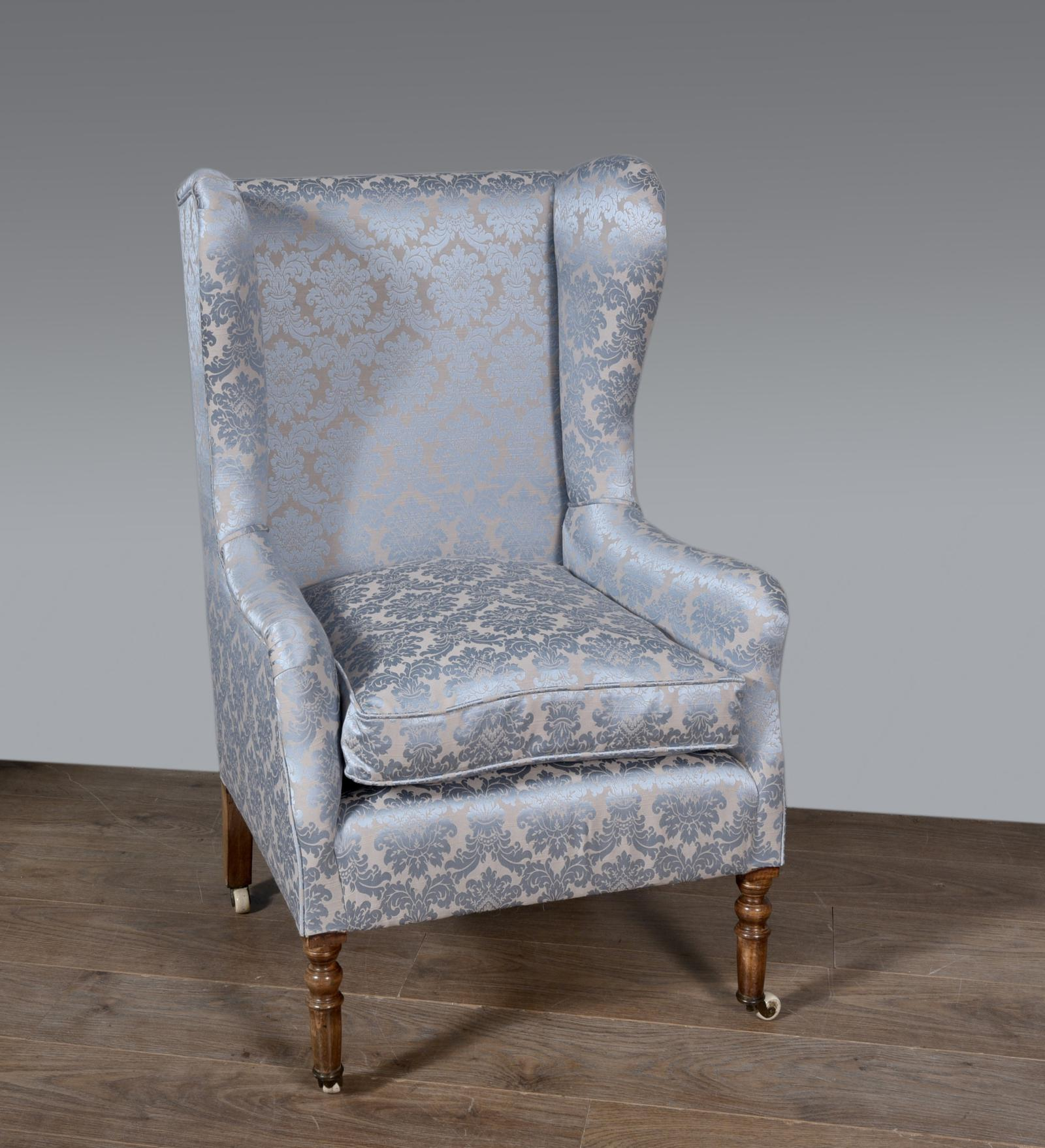 Antique Wing Chair by Gregory & co (1 of 1)