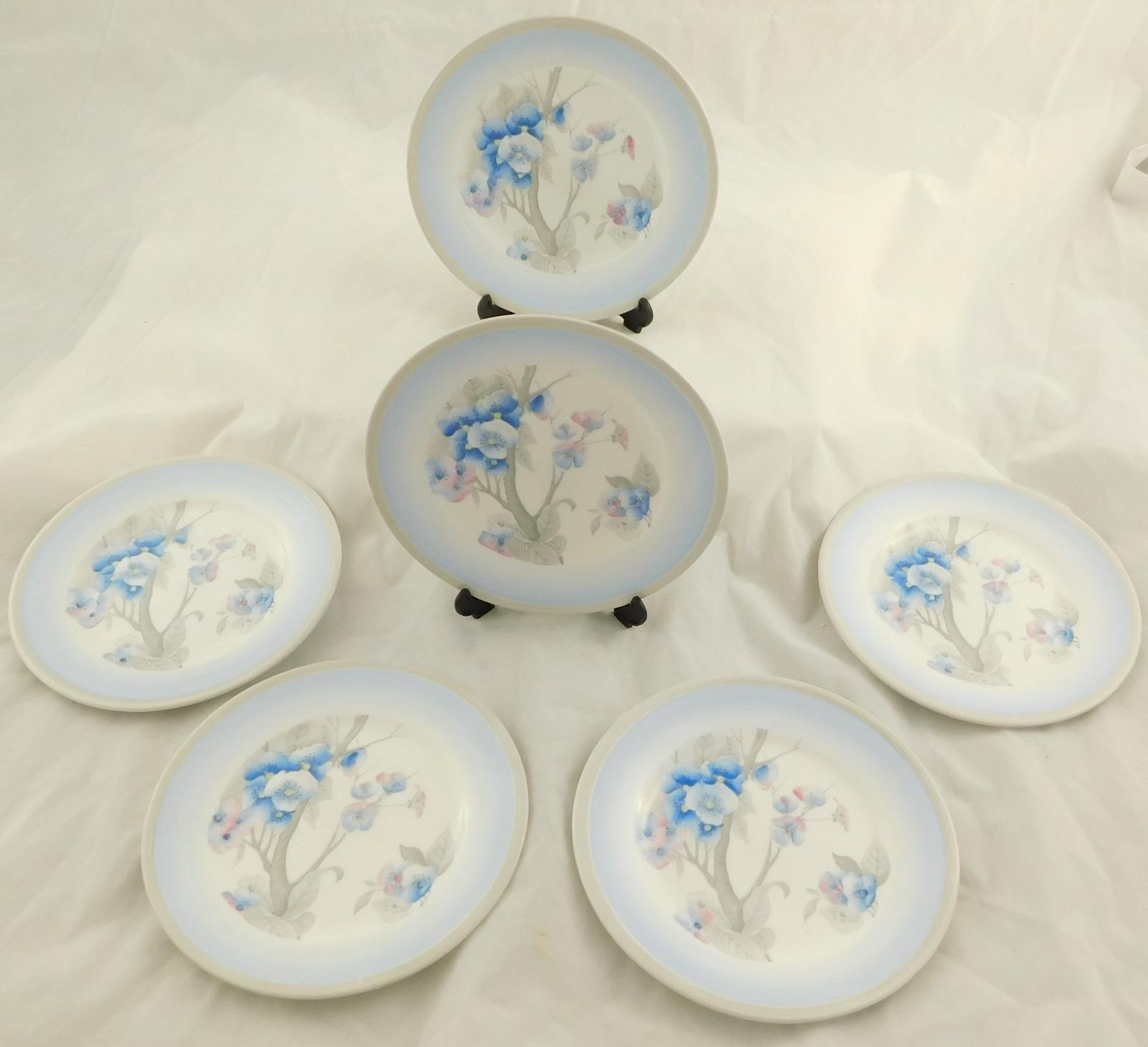 Set of Six Shelley Plates Pattern No 12437 (1 of 1)