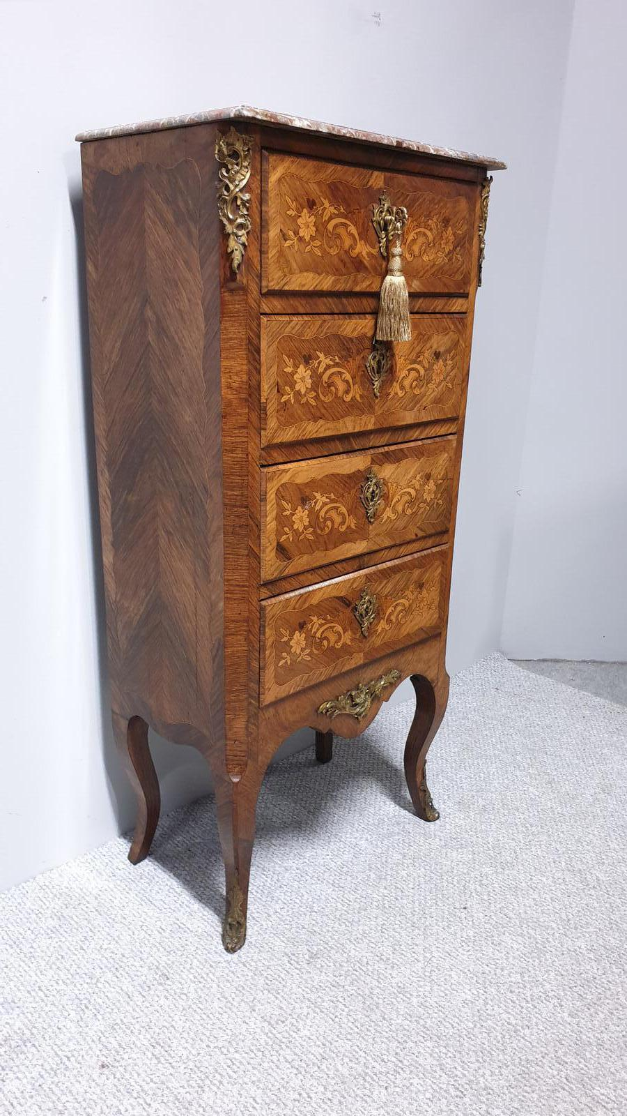 Superb French Semanier Chest of Drawers (1 of 1)
