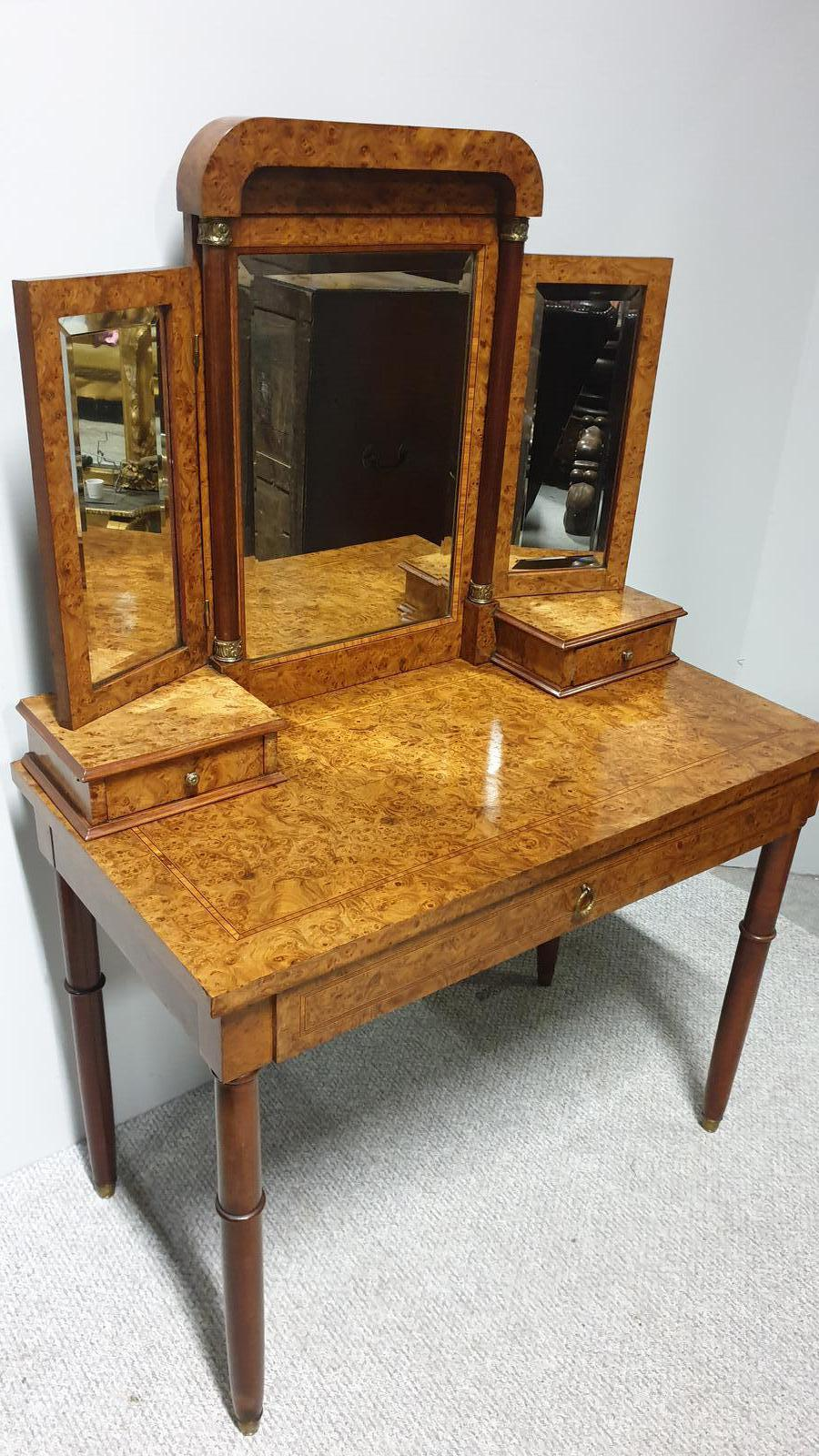 Fabulous French Burr Dressing Table (1 of 1)