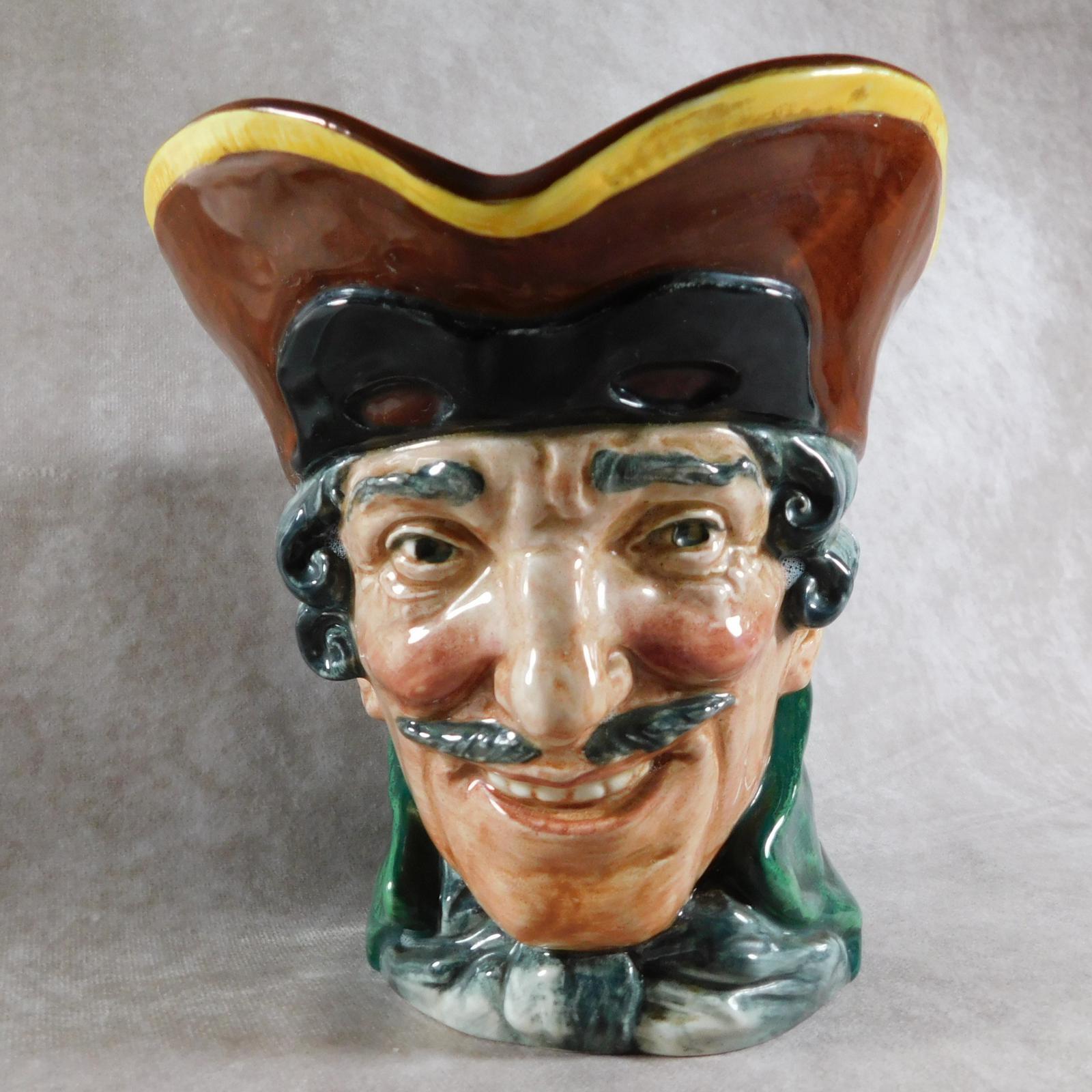 "Large Royal Doulton  ""Dick Turpin"" Character Jug (1 of 1)"