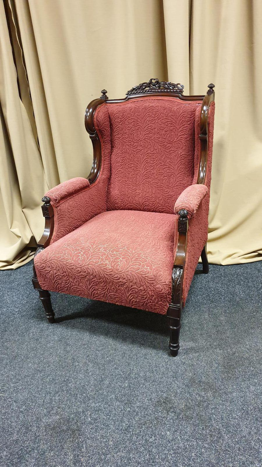 Super Mahogany Wing Chair (1 of 1)