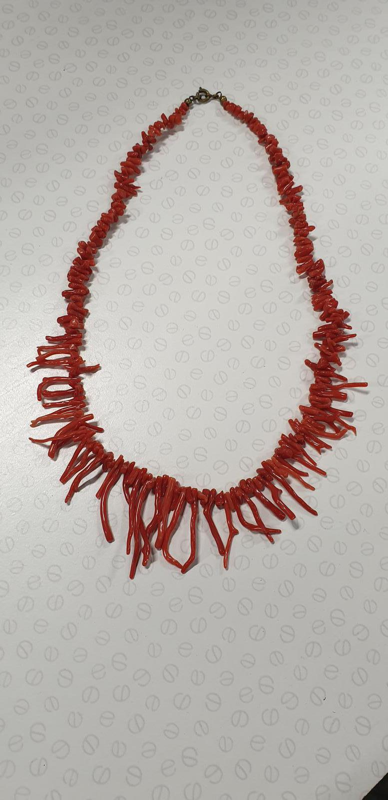 Victorian Red Coral Necklace (1 of 1)