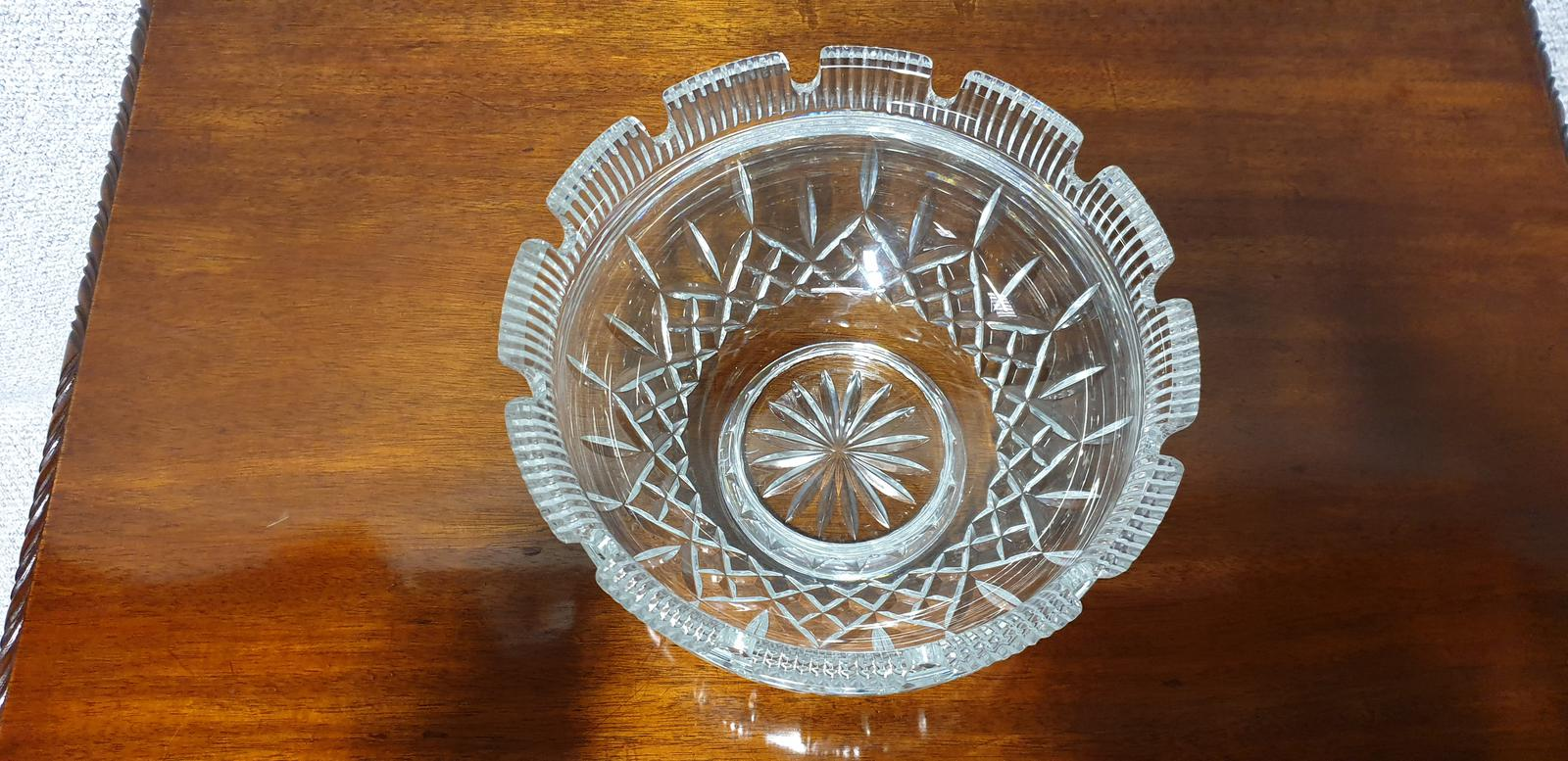Large Lismore Castle Waterford Bowl (1 of 1)