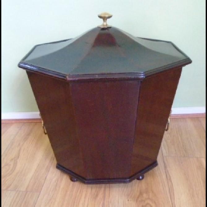 Regency Style Mahogany Wine Cooler (1 of 1)