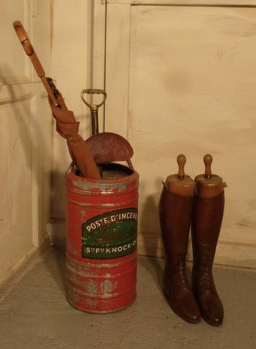 Quirky Umbrella Stand, French Fire Department Pump ...