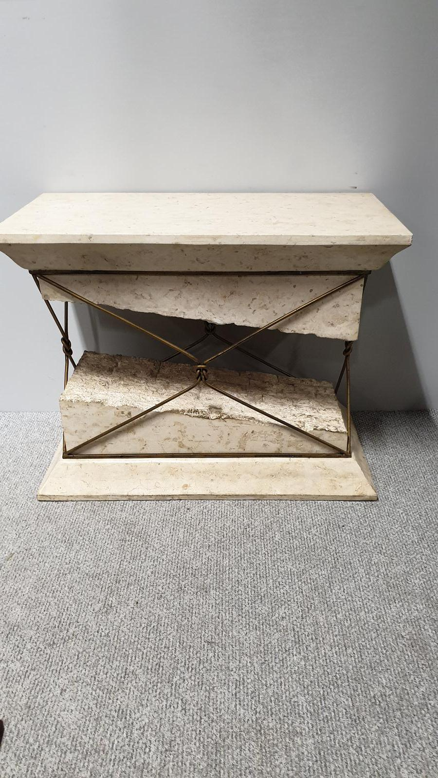 Marble Console Table (1 of 1)