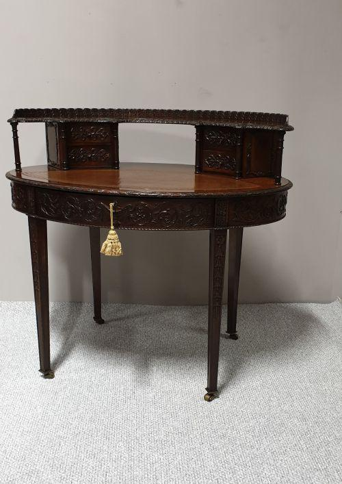 Irish Mahogany Desk 'Robert Strahan' (1 of 1)