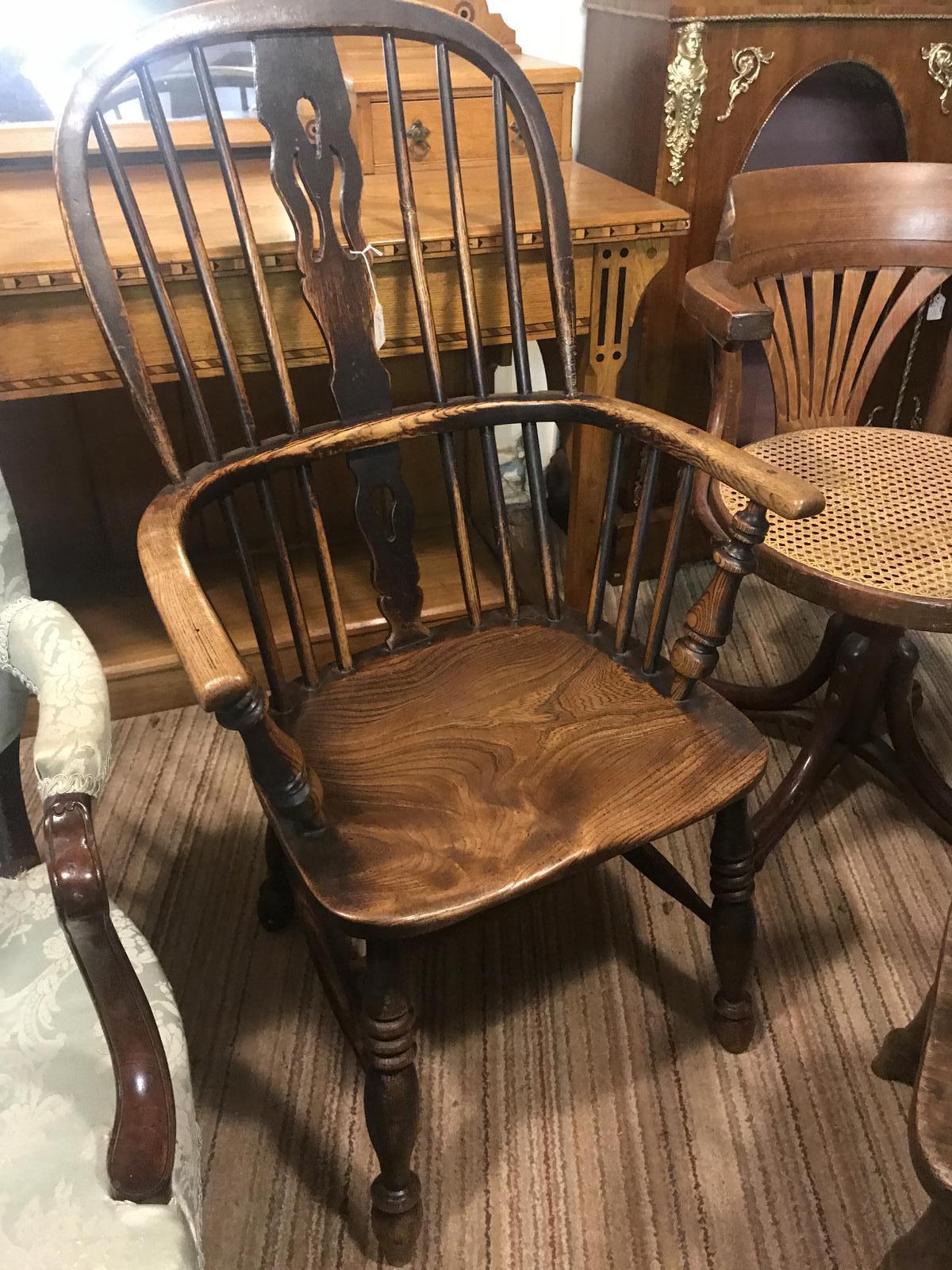 Original Cornish Early Windsor Armchair (1 of 1)