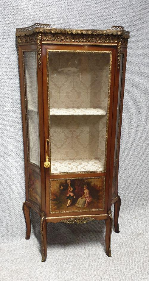 Quality French Vernis Martin Display Cabinet (1 of 1)