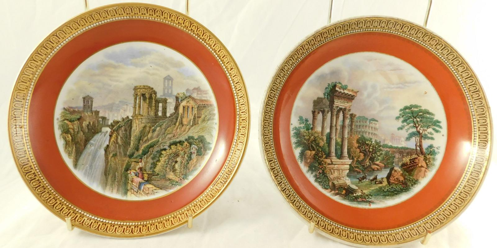 Pair of 19th Century Prattware Dishes (1 of 1)