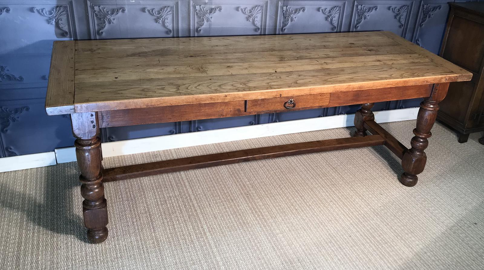 French Oak Farmhouse Table (1 of 1)
