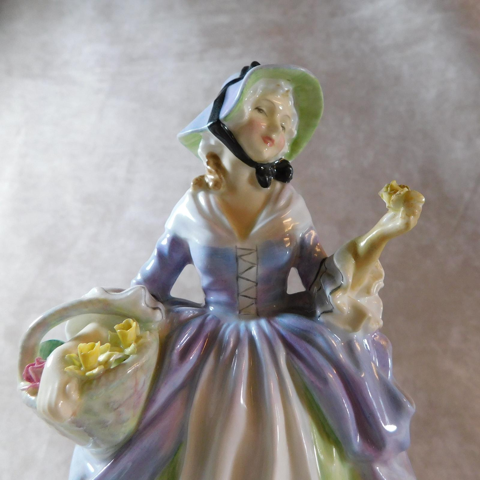 Royal Doulton 'Spring Flowers' Figure (1 of 1)