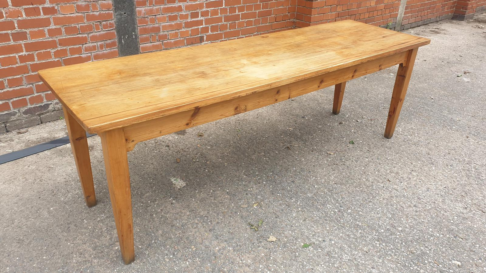 Superb Fruitwood Kitchen Table (1 of 1)