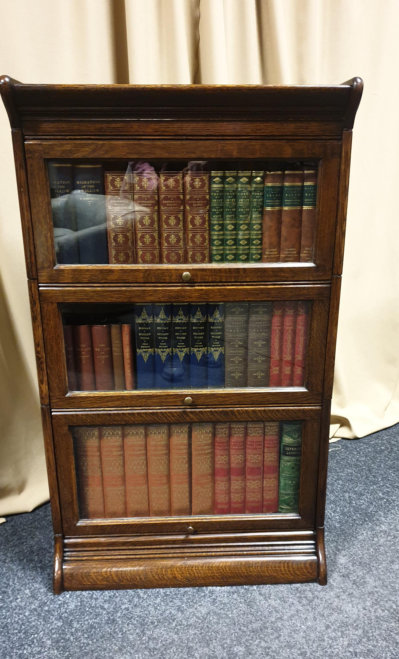 Globe Wernicke Bookcase of Small Proportions (1 of 1)