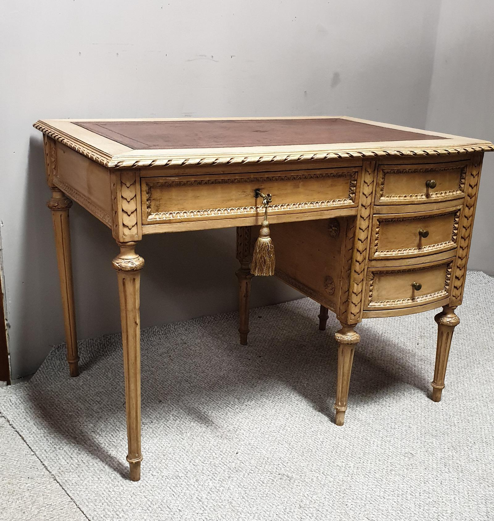 Superb French Original Painted Desk (1 of 1)