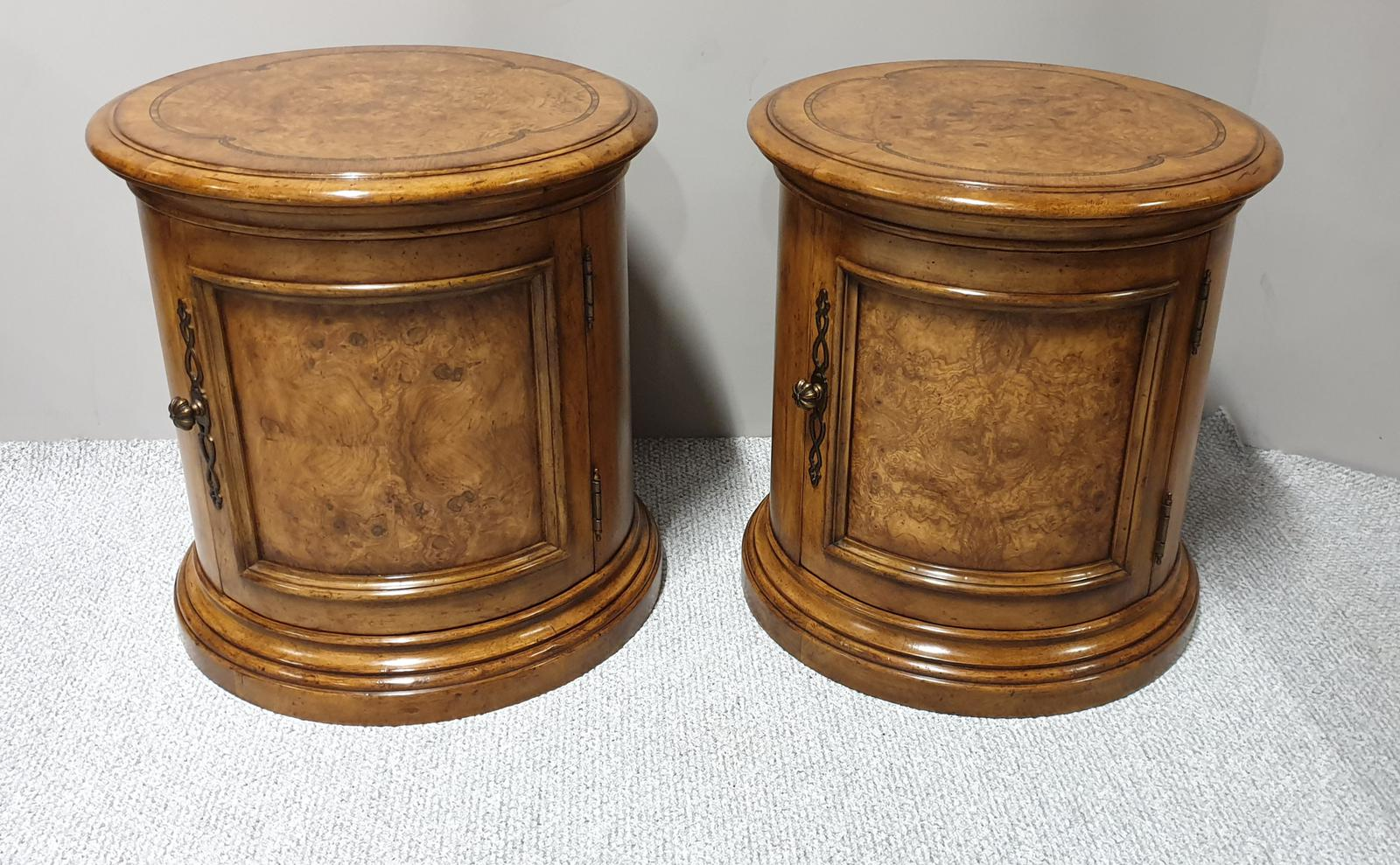 Fab Pair of Burr Walnut Cabinets (1 of 1)