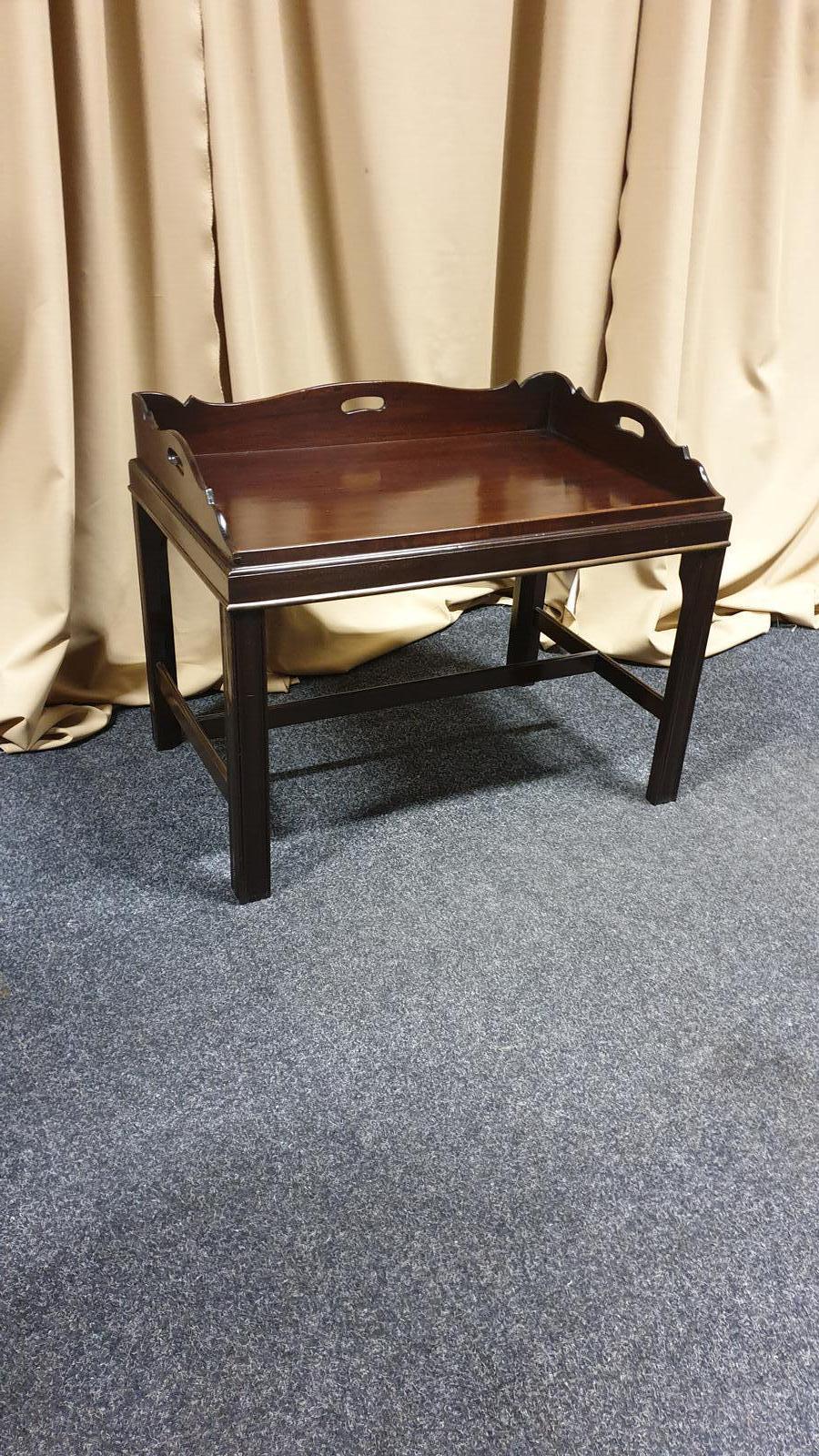Georgian Mahogany Butlers Tray Coffee Table (1 of 1)
