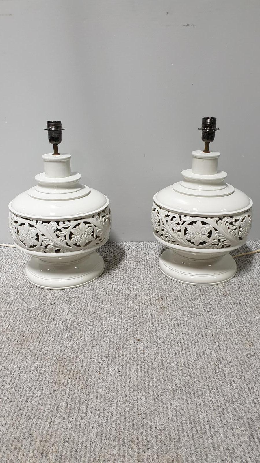Pair of Large Italian Lamps (1 of 1)