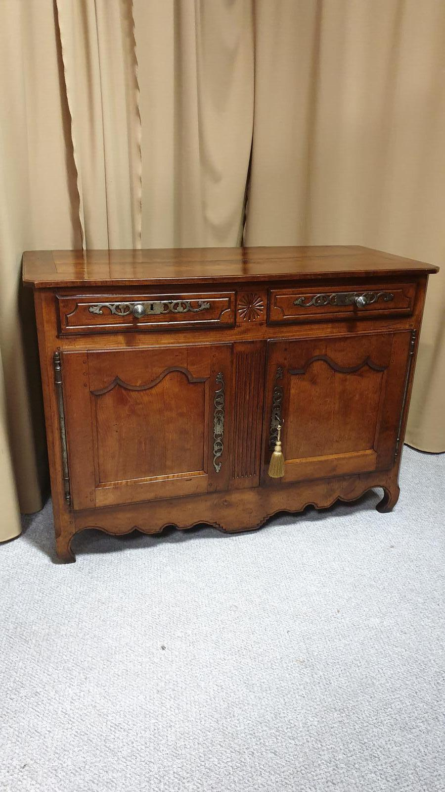Superb French Cherry Wood Sideboard Buffet (1 of 1)