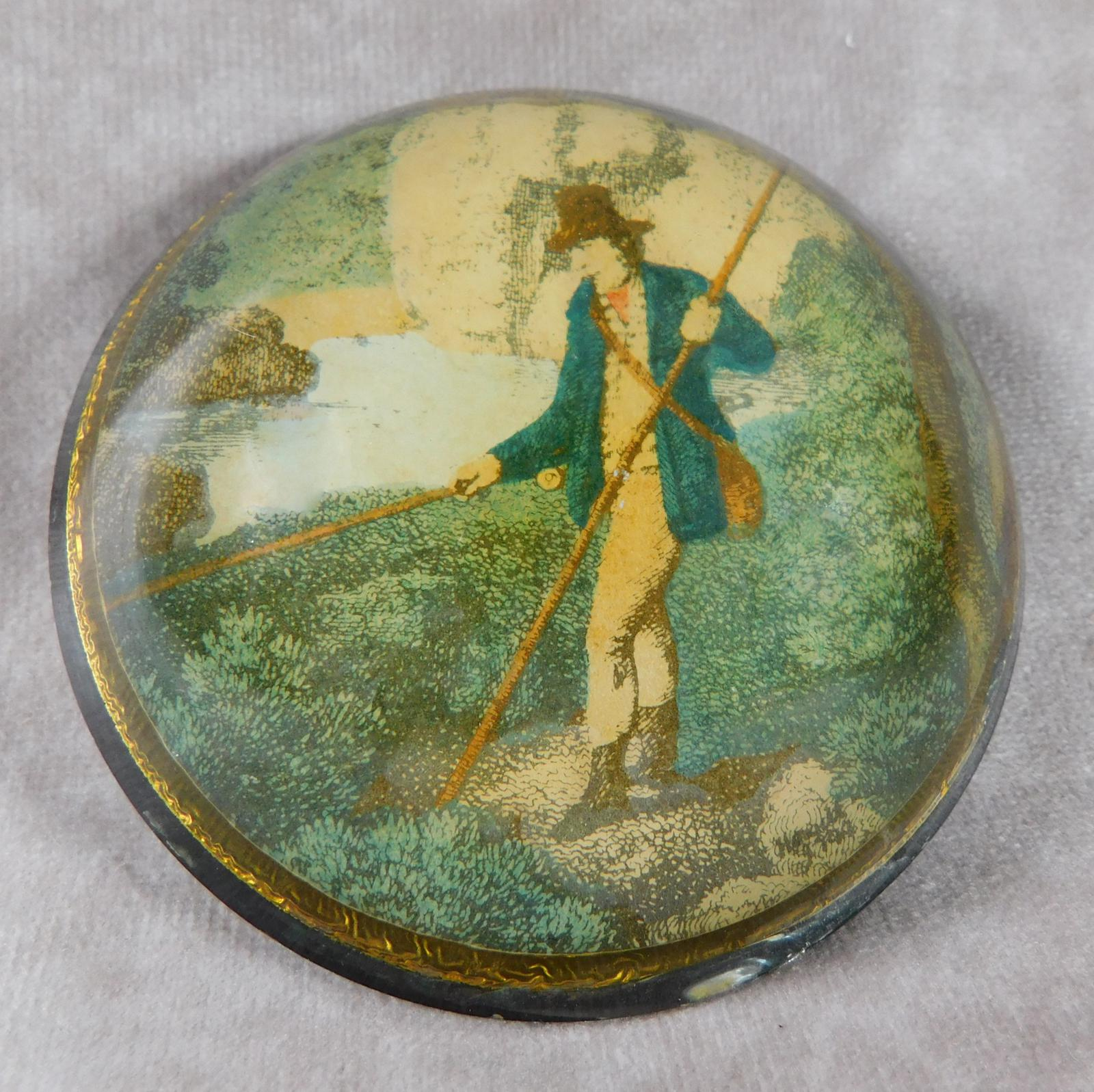 19th Century Convex Paperweight (1 of 1)