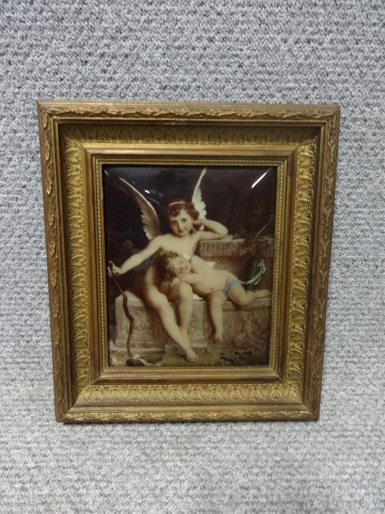 Outstanding Chrystoleum of Cupid and Sleeping Cherub (1 of 1)