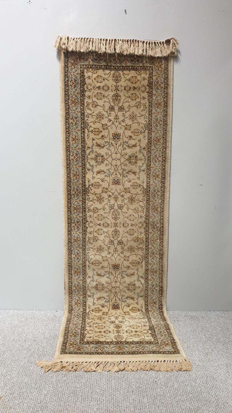 Beluchi Silk Carpet Runner (1 of 1)