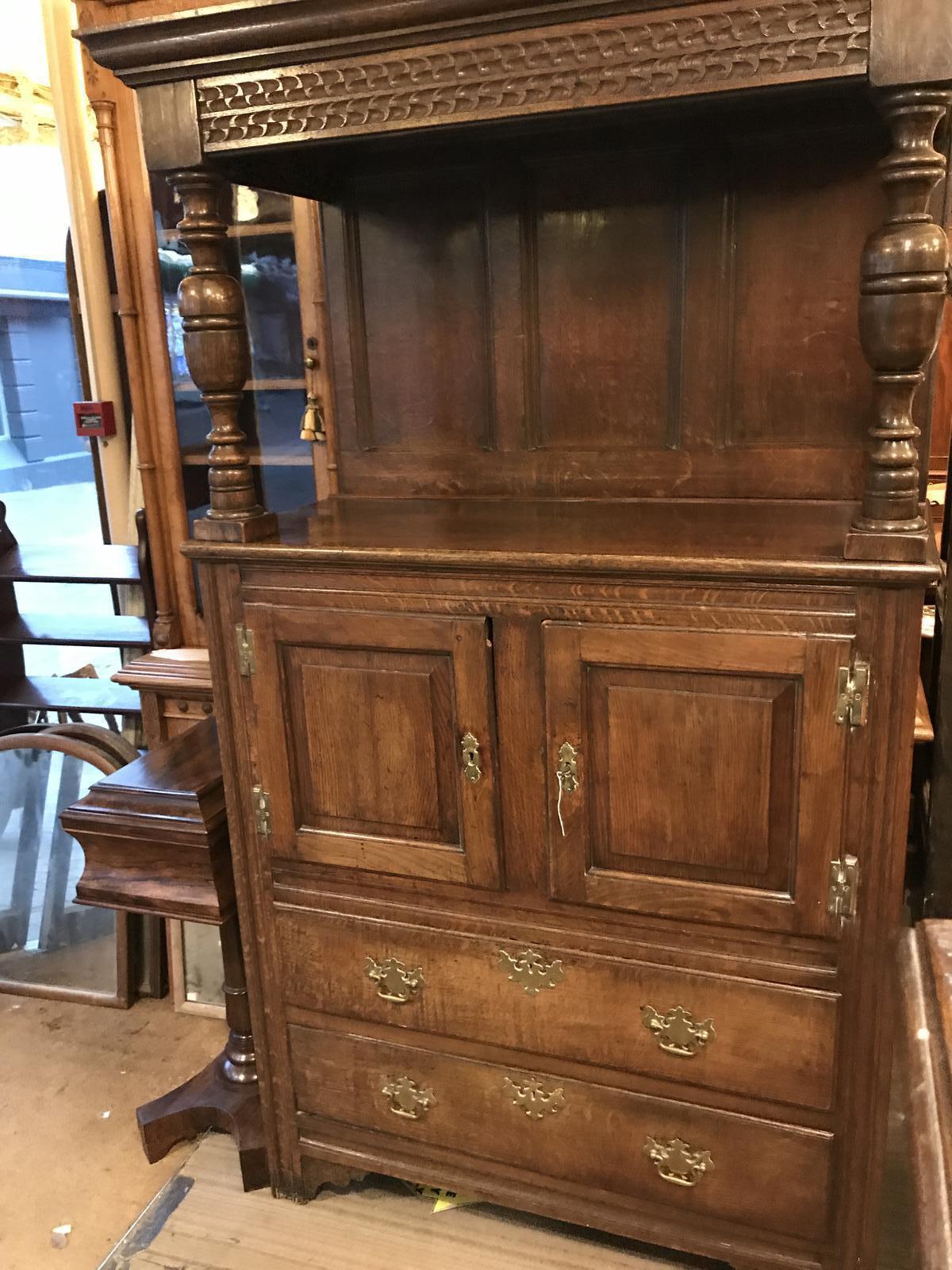 Georgian Oak Cupboard (1 of 1)