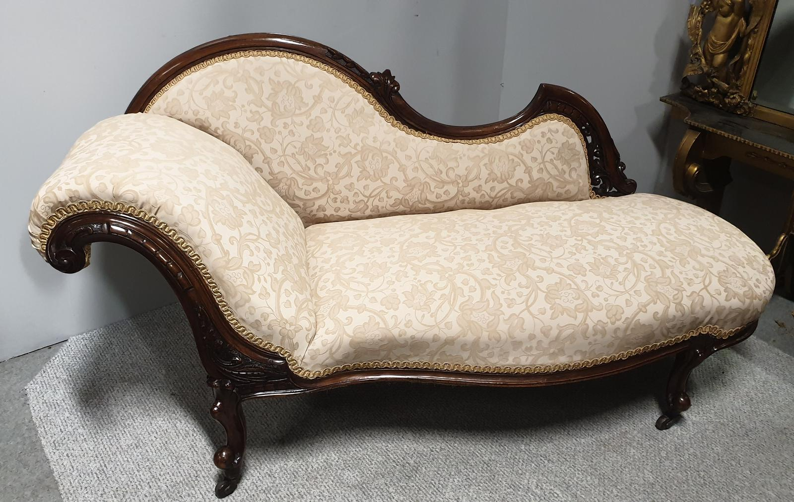Victorian Chaise Lounge of Small Proportions (1 of 1)