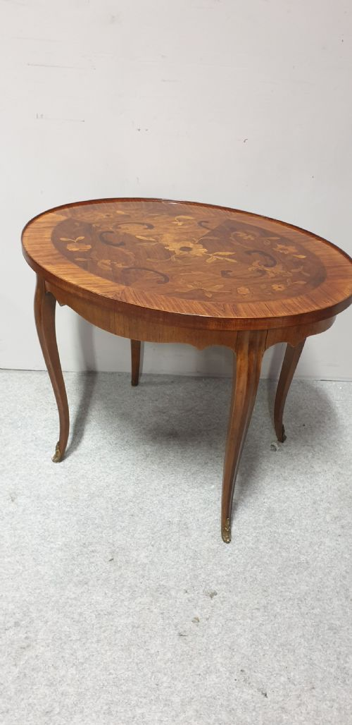 Wonderful Marquetry Coffee Table c.1910 (1 of 1)