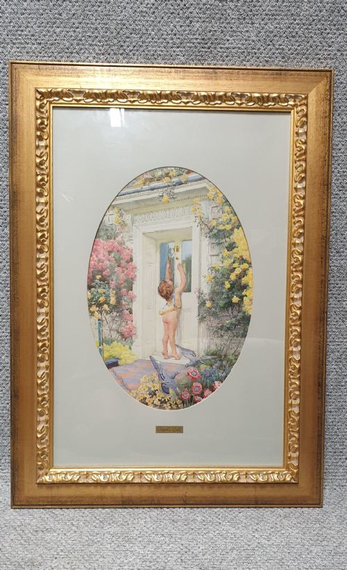 Wonderful Watercolour by Arthur H Buckland (1 of 1)