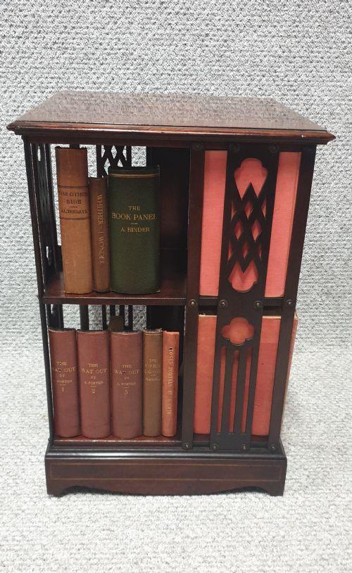 Miniature Mahogany Revolving  Bookcase (1 of 1)