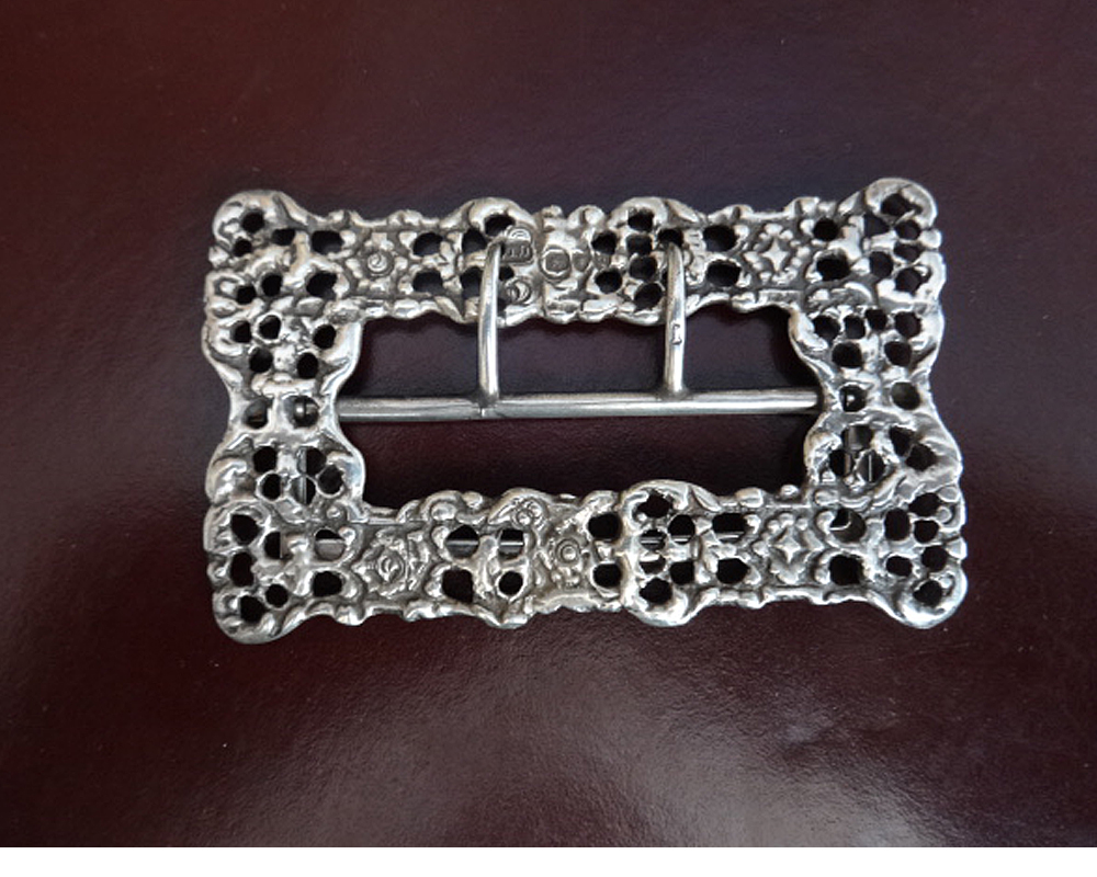 Good Victorian Silver Buckle (1 of 1)