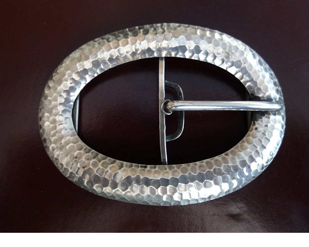Good Silver Buckle c.1920 (1 of 1)