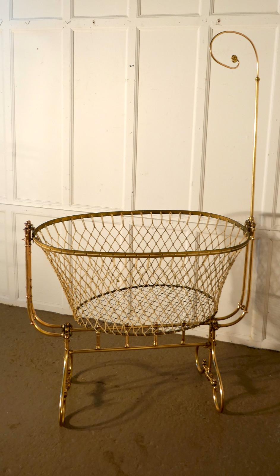 Antique 19th Century Rocking Crib