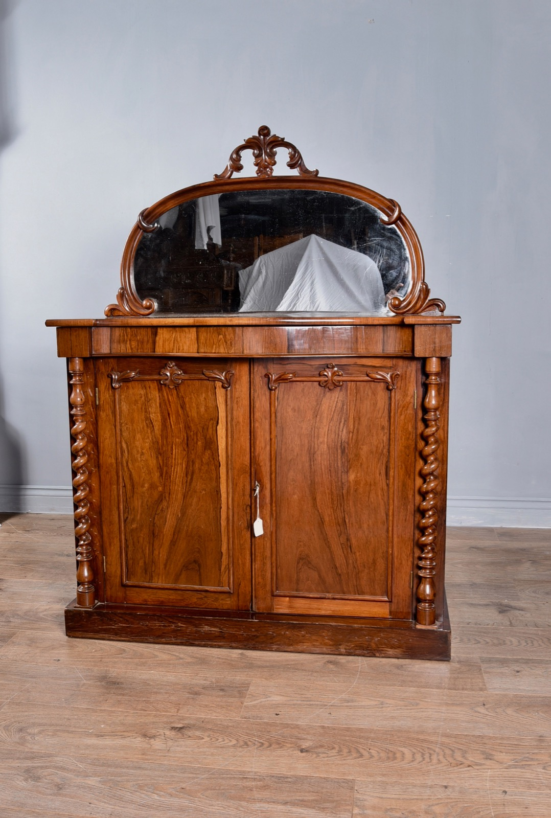 Antique Victorian Rosewood Chiffonier Side Cabinet (1 of 1)