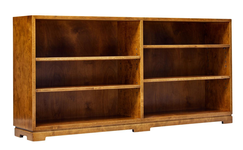 Image of: Mid 20th Century Scandinavian Modern Low Open Bookcase Ea2021 La115509 Loveantiques Com