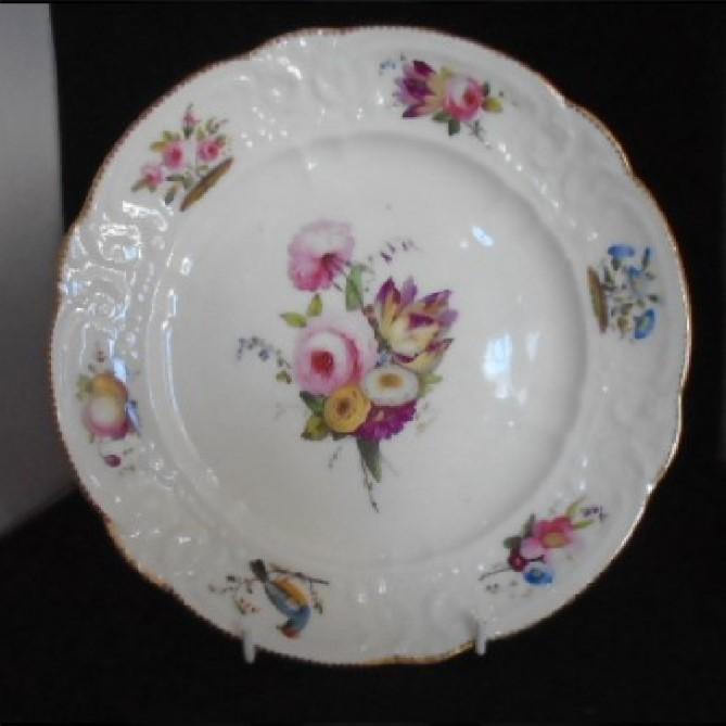 Nantgarw Plate from Brace Service (1 of 1)