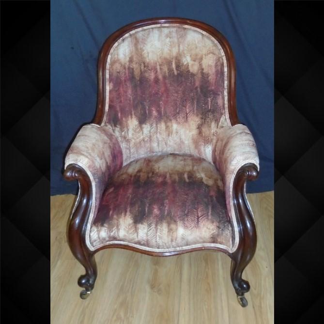 Mahogany Framed Chair C.1870 (1 of 1)