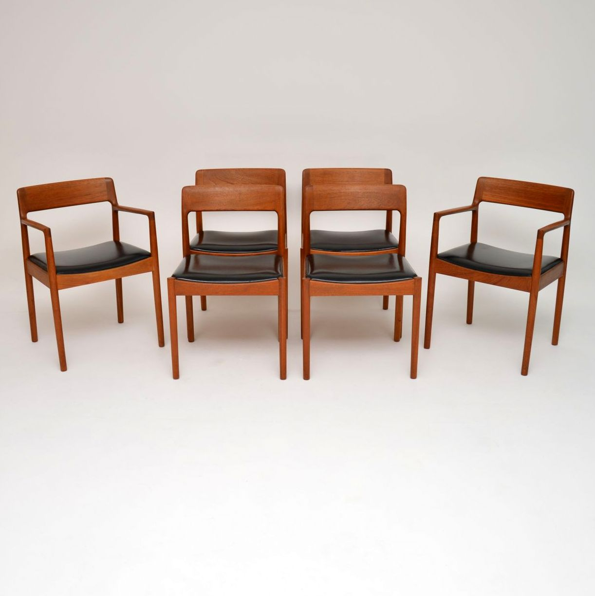 1960s Set Of 6 Danish Teak Dining Chairs By Norgaards La119300 Loveantiques Com