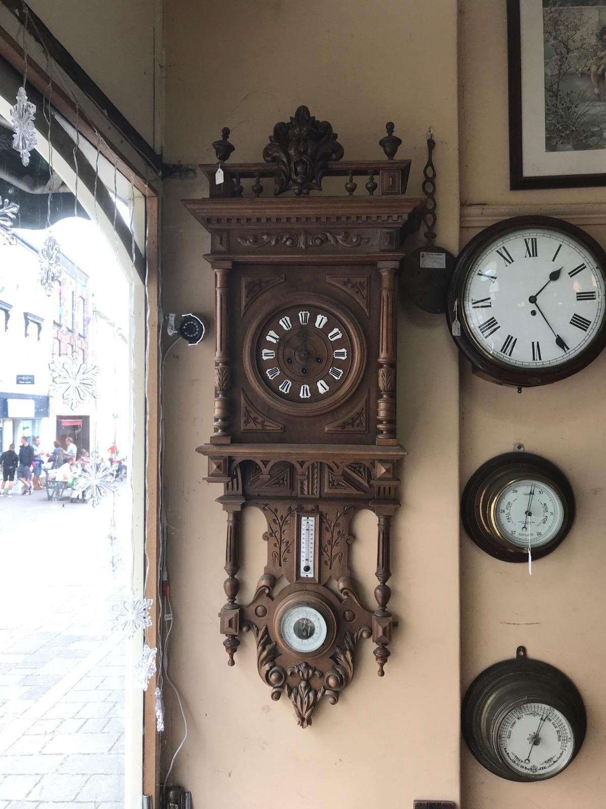 Unusual Clock & Barometer (1 of 1)