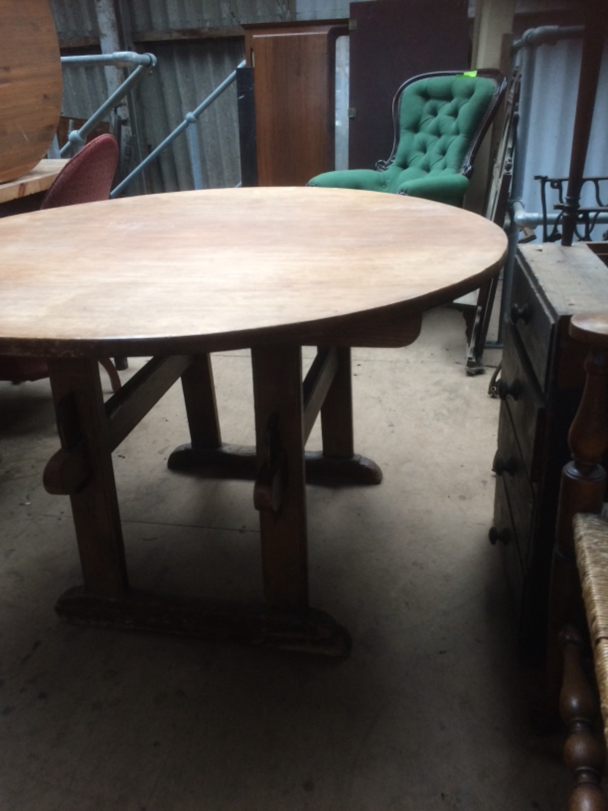 Rustic Pine Table (1 of 1)